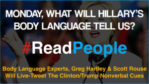 Scott Rouse - Greg Hartley - Body Language expert - live tweet 2