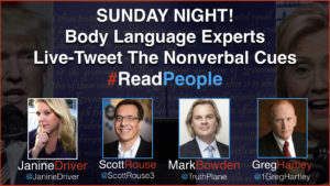 Body Language Experts Live Tweet 1